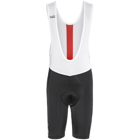 Northwave Logo Kid 3 Bib Shorts black-red